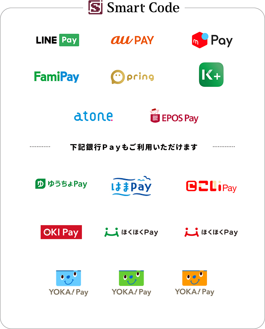 LINE Pay,au PAY,メルペイ,ゆうちょPay